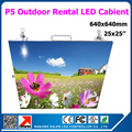 Открытый p5 из светодиодов панели высота яркость 25 на 25 дюйм(ов) полноцветный из светодиодов кабинет 640 x 640 мм