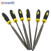 140mm 6Pcs Assorted Needle File Set For Jewelry Dental Wax Mold And Wood Working Jewelry Hand
