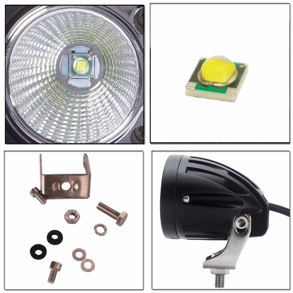 20 W LED Kerja Ringan Offroad Fog Lamp Mobil Auto Truk ATV Motor - Lampu mobil - Foto 3