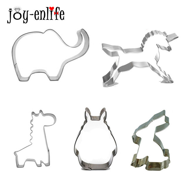 top quality cheapest price good looking US $0.82 31% OFF|Birthday Unicorn Party Suplies Animal Biscuit Mold  Stainless Steel Cookie Cutters Giraffe/Elephant/Rabbit Baking Mould DIY  Tools-in ...