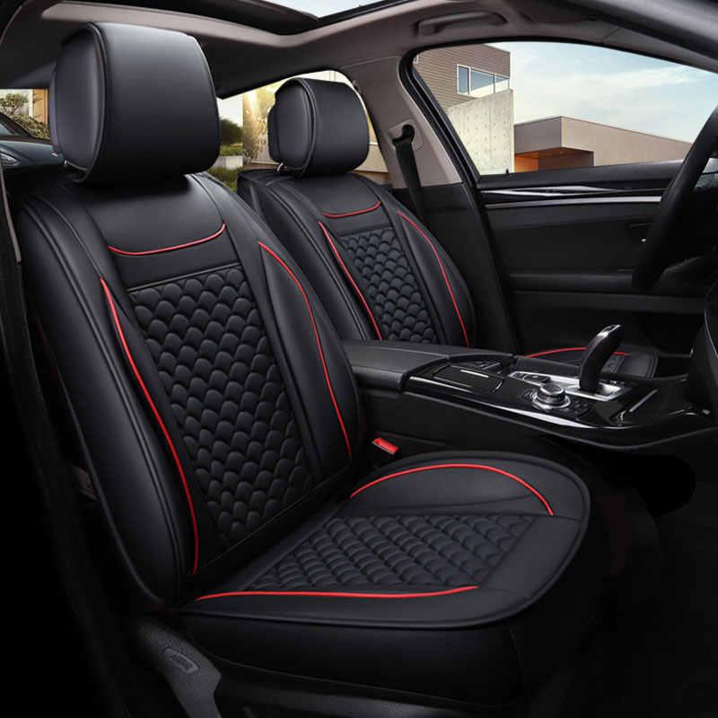 Pu deri araba koltuğu koruyucu kapakları oto koltuk minderi benz mercedes w114 w115 w123 t123 w124 t124 w210 c e sınıfı w164 w166