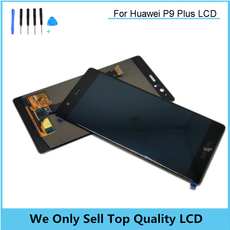 Replacement LCD for HUAWEI P9 Plus Display Screen with Touch Screen Digitizer No Frame Assembly Free Shipping with Tools As Gift