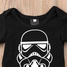 Baby Boys Girls Romper Short Sleeve Clothes 0-18M