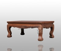 Living Room Furniture China Classic Antique Kang Table Rosewood Rectangle Small Tea Coffee Desk Solid Wood Teapoy Customizable