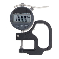 For Digital Micrometer 0.001 12.7mm Electronic Thickness Gauge Depth LCD Measurement Promotion