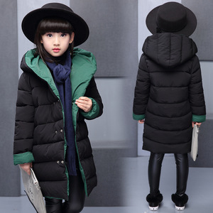 Image 2 - child Jackets Coats 8 10 12 Years Girls Coat Baby Girl Autumn Winter Long Sleeve Jacket Children Clothes Kids Christmas Outwear