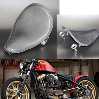 For Harley Sportster Forty Eight XL 1200 883 72 Honda Yamaha Bobber 13.7 * 10 Universal Motorcycle Driver Front Solo Seat