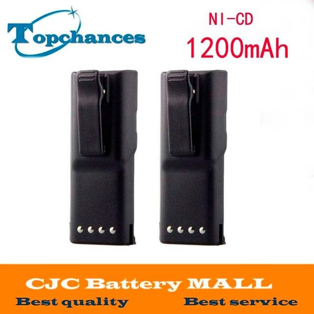 2x HNN9628 HNN9628A Батарея для MOTOROLA GP-300 PTX600, MTX638 LCS2000 LTS2000 Бесплатная доставка