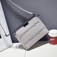 New Style 2016 Fashion Handbags High Quality PU Leather Tote Bag Small Shoulder Messenger Bags 7