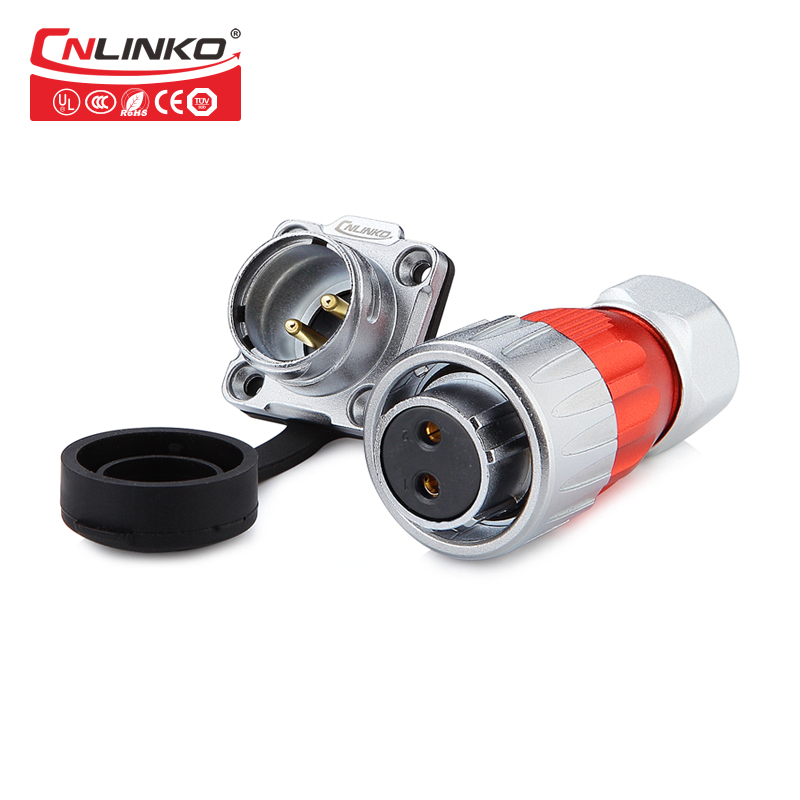 Linko Female Gender and Automotive Application Car Engine Wiring Harness 2 Hole Car Waterproof Connector 2 Pin Plug M20 MetalLinko Female Gender and Automotive Application Car Engine Wiring Harness 2 Hole Car Waterproof Connector 2 Pin Plug M20 Metal