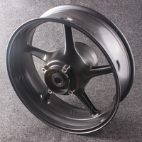 High Quality Motorcycle Rear Wheel Rim For Triumph Daytona 675 & Street Triple 2008 2009 2010 2011 2012 Aluminum Alloy Black