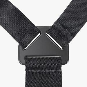 Image 4 - Vamson git Pro aksesuarları için elastik vücut koşum kayışı göğüs kemeri dağı Gopro Hero için 8 7 6 5 için yi SJCAM kamera için VP204