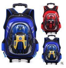 Kinder Schultaschen Auf rädern Trolley Schultasche rucksäcke rädern rucksack kinder Schule rollrucksack für jungen Kinder reisetaschen