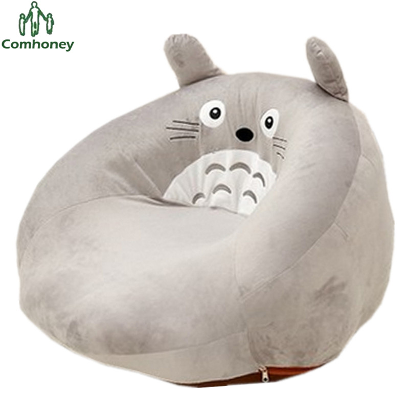 Baby Chair Bean Bag Toy Totoro Plush Feeding Children Seat Sofa For Kids Sleeping Bed Nest Puff Beanbag In Seats From Mother