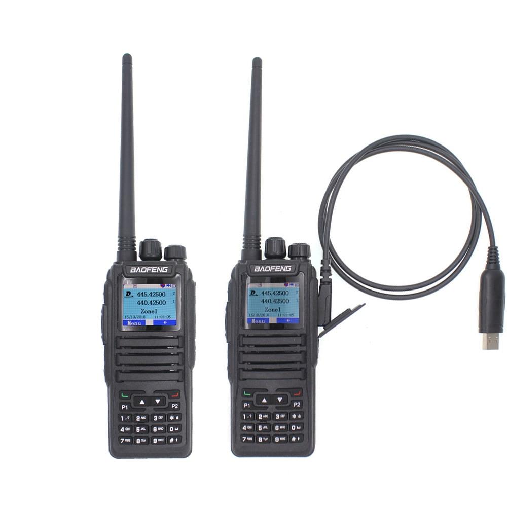 2018 Baofeng New launch dual mode analog Digital walkie talkie DM 1701 Dual Time Slot Dual