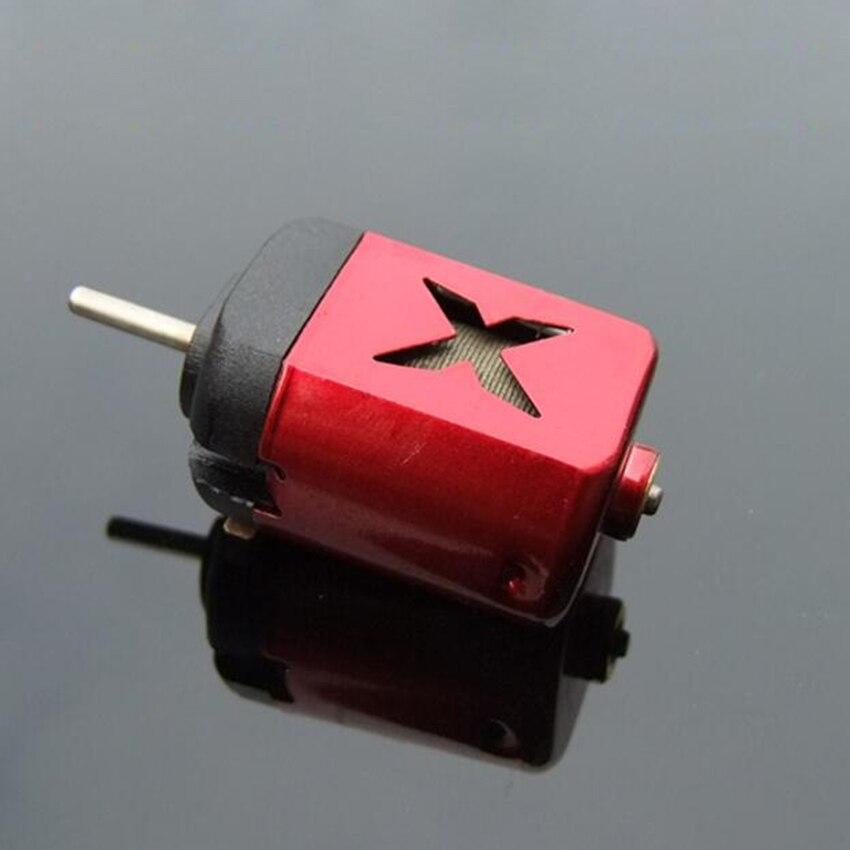 1 Pc 2.4-3 V Rood/blauw/sliver 2/7/8000 Rpm 130 Mini Micro Dc Motor Voor Diy Speelgoed Hobby Smart Auto Mooi Van Kleur