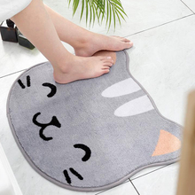 Cartoon Bathroom Mat Home Absorbent Pad New Thickening Bedroom