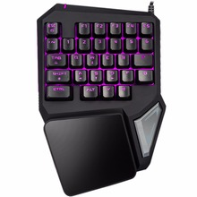 Clicky Gaming keyboard Slim Mechanical Switches Backlight 6 buttons Anti-Ghosting For Teclado Gamer USB Wired RGB Computer