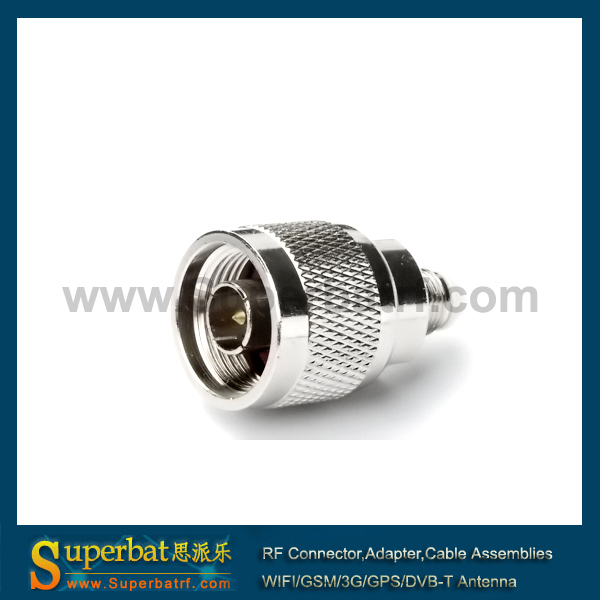 Superbat N-FME RF Coaxial Adapter N-Type Plug Male To FME Jack Female Straight Connector