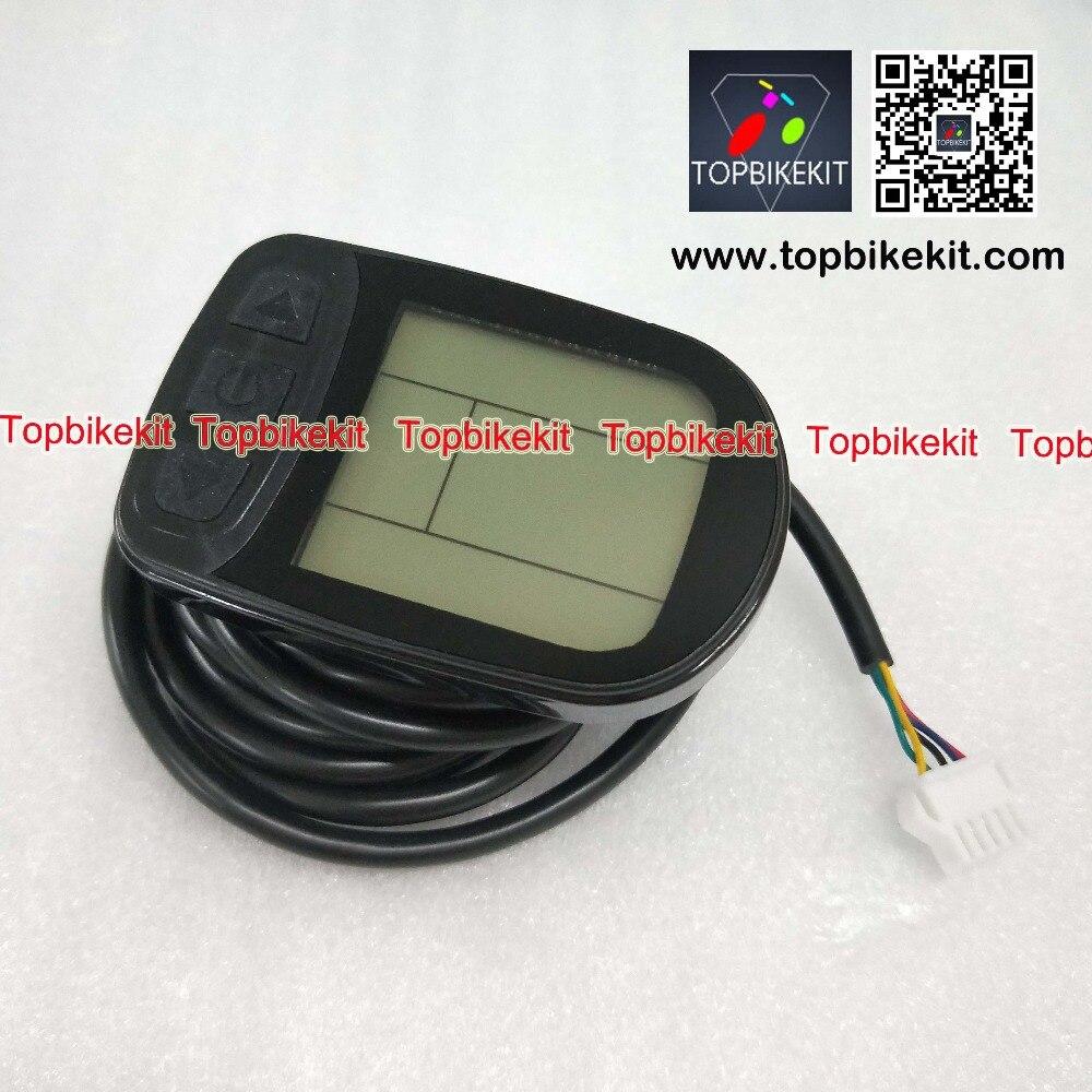 24V-36V-48V-KT-LCD5-Display-24V-36V-48V-Meter-Control-Pane for ebike black  (2)