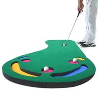 Outdoor Indoor Mini Green Golf Putter Blanket Putter Trainer Entertainment Supplies Speed Delivery