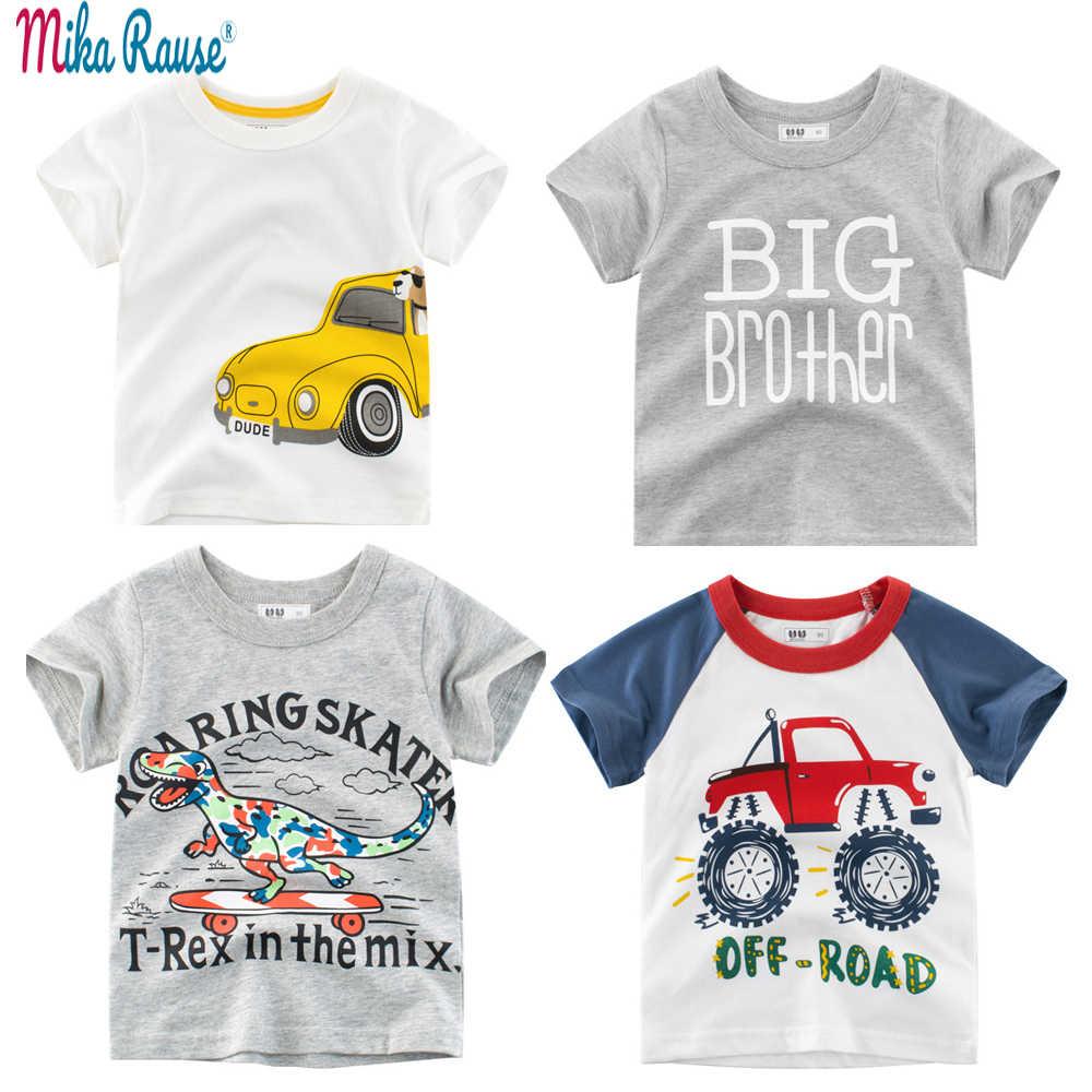 6d927a69a 4PCS New Summer boys t shirt set 3D printed shirt kids cotton tshirt boy  tops short