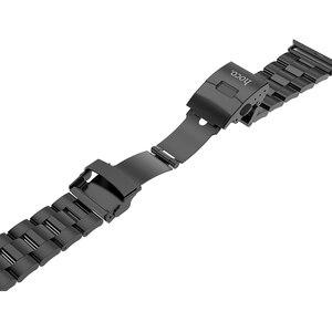 Image 3 - HOCO 2019 New Arrival pasek ze stali nierdzewnej do zegarka Apple iWatch seria 1 2 3 4 5 pasek 42mm 44mm 38mm 40mm taśma metalowa