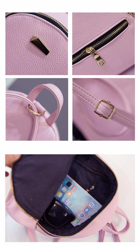 Small Fashion Rucksack Hotsale Women Shopping Purse Ladies Joker Bookbag Travel Bag Student school Backpacks Mini Women Backpack 2