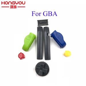 Image 2 - 10 комплектов, сменные кнопки A B L R, левые и правые кнопки, кнопки для Gameboy Advance, кнопки, рамка для GBA