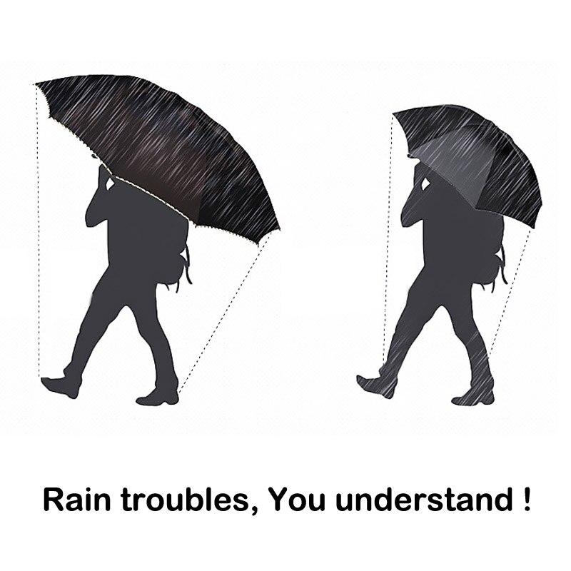 Big Umbrella Rain Women Folding Windproof Sun Large  1