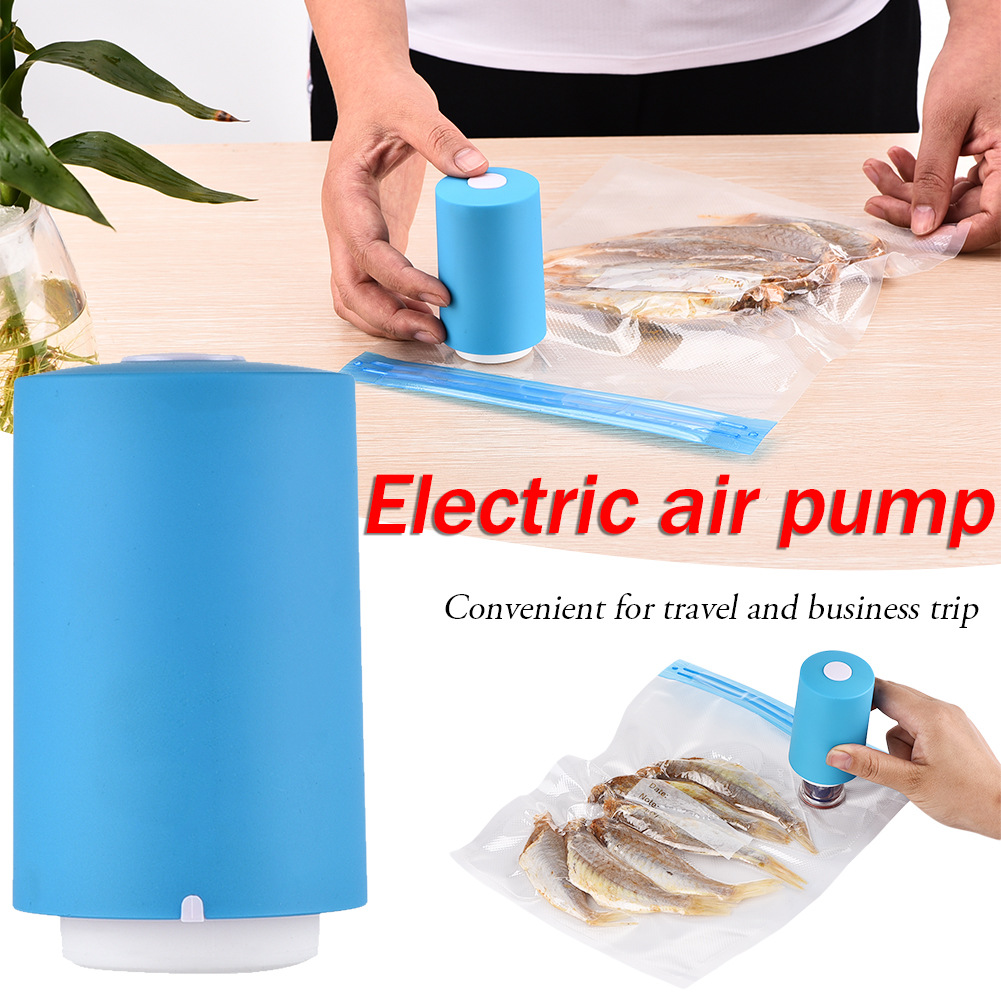 Multi-functional Dual-use Electric Air Pump Auto Portable Blower Travel Compression Bag Vacuum Storage Bag Air Extractor(China)