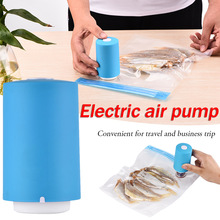 Multi-functional Dual-use Electric Air Pump Auto Portable Blower Travel Compression Bag Vacuum Storage Bag Air Extractor multi functional dual use electric air pump auto portable blower travel compression bag vacuum storage bag air extractor