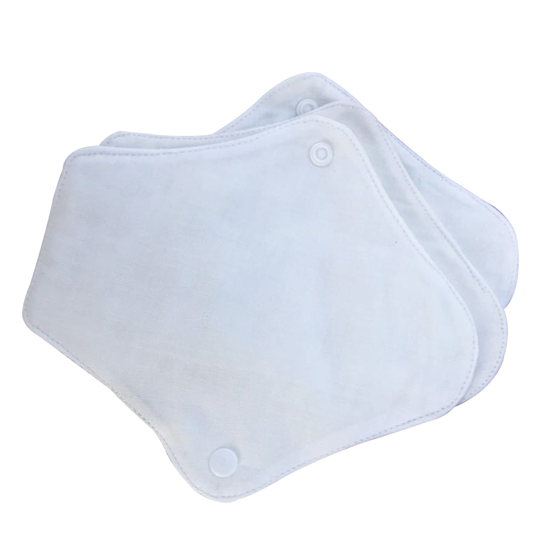 Bamboo Cloth Breathable Slim Soft Washable Sanitary Napkin Mama Towel Reusable Panty Liner Feminine Hygiene Menstrual Pad Clean