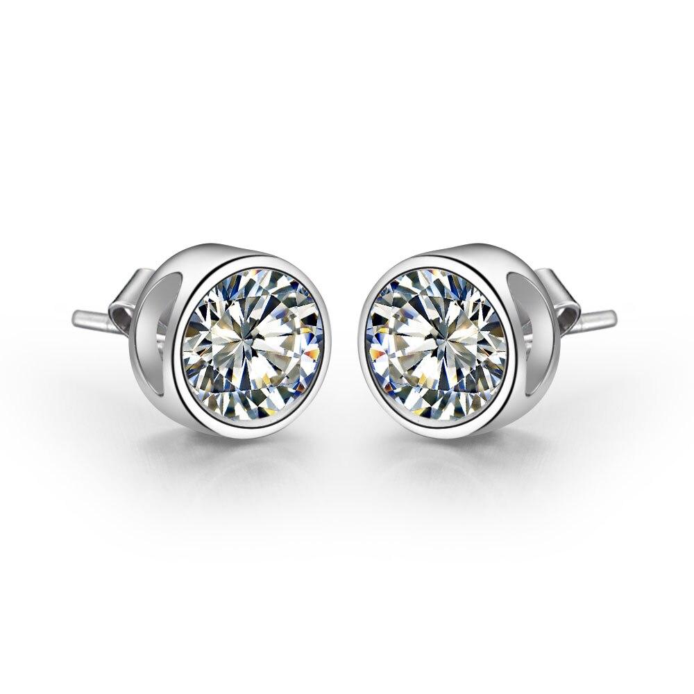 Pure 18k White Gold Earrings