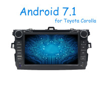 Quad Core 1024 600 Android 4 4 Fit TOYOTA COROLLA 2001 2006 2007 2008 2009 2010