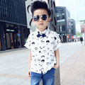 2017 Summer Boys Short Sleeve T-Shirts for Children Printed T Shirt Kids Tops Tees Boys Polo Shirt Children Clothing