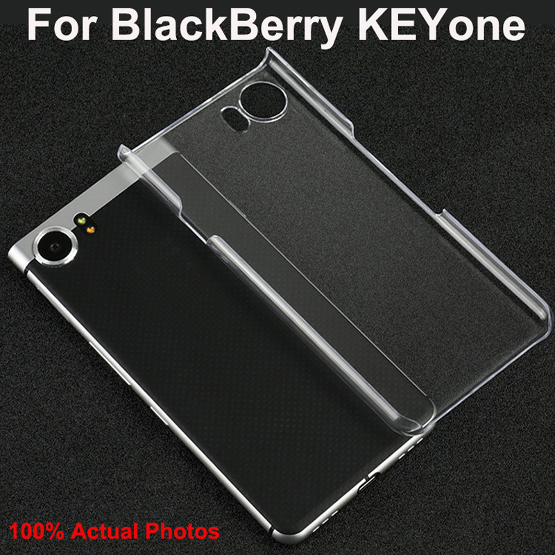 Slim Hard Plastic Phone Cases For Blackberry KEYone Case Cover For BlackBerry KEY one DTEK70 Protection transparent shell coque(China)