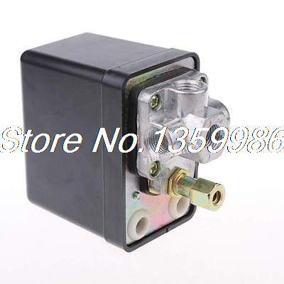 1p 175 PSI 12 Bar 240V 15A 3-port Air Compressor Pressure Switch Control Valve 13mm male thread pressure relief valve for air compressor