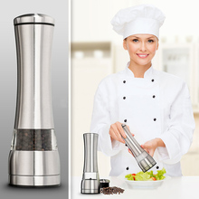 Stainless Steel Salt And Pepper Grinder Pepper Mill Stainless Gadgets Grinder Milling Machine Household kitchen Supplies 10