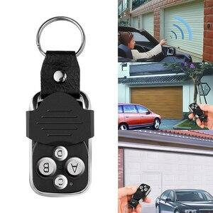 Image 5 - Garage Gate Door 433MHZ Remote Control Key Ring Auto Pair Copy Remote Garage Door Opener Remote Controller Duplicator Universal