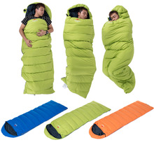 HWHot! Premium Camping Sleeping Bag With Hat For Hiking Outdoor Sports Travel