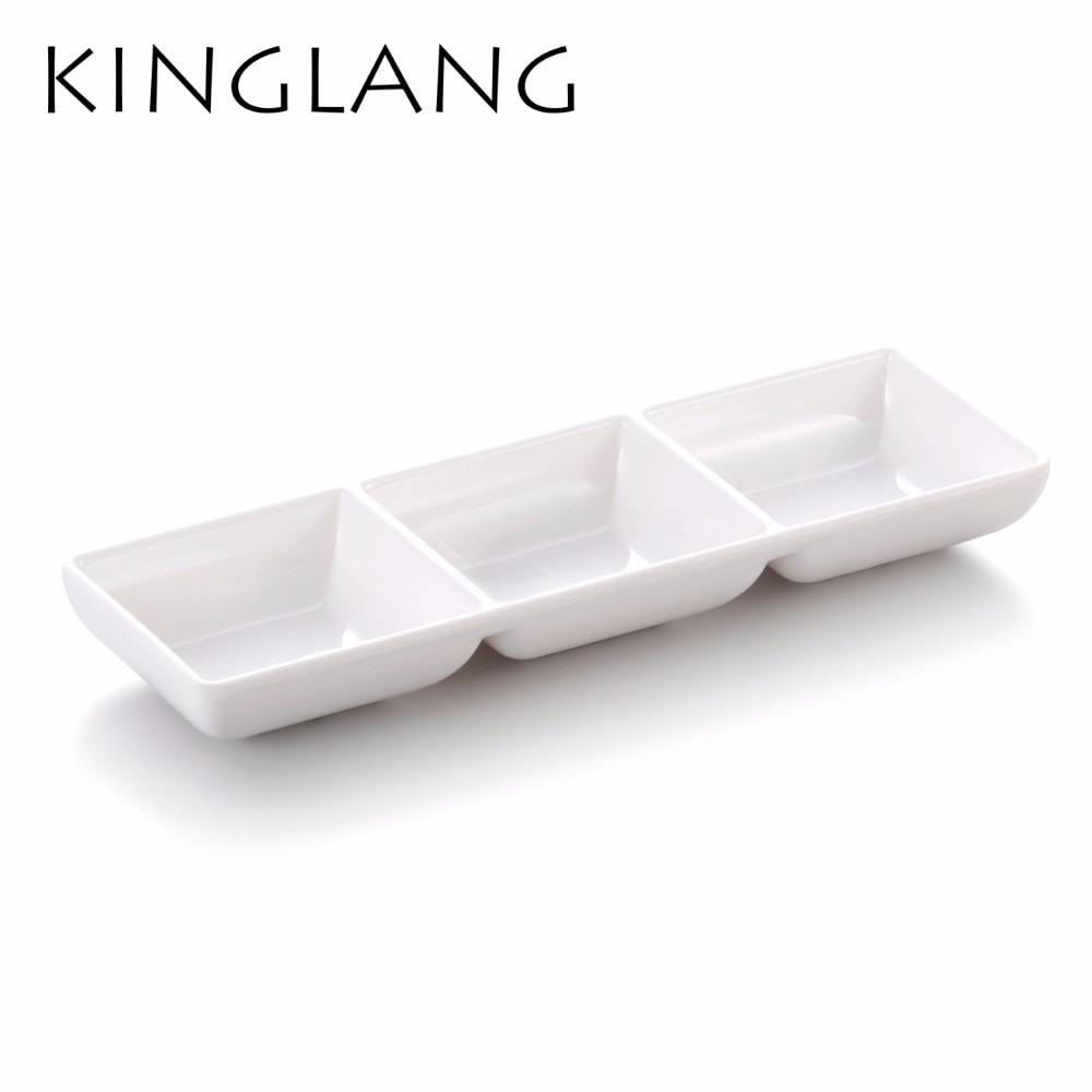 KINGLANG Melamine Solid Dipping Soy Sauce Bowl Wasabi Plastic Canteen buffet Use Small Sauce Dish Tableware