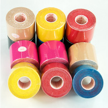5cm x 3.5m Sports Tape Kinesiology Tape Cotton Elastic Adhesive Muscle Bandage Care Physio Strain Injury Support