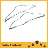 Cubiertas de luz trasera cromadas para Ford Escape/Kuga 2013 up|tail light covers|chrome ford kuga|ford escape tail light -