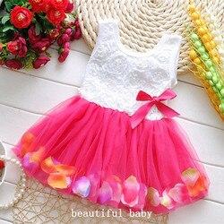 2017 summer dress cotton kids clothes baby infant petals hem tutu dress chiffon newborn baby girls.jpg 250x250