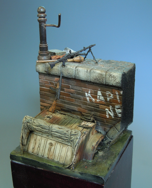 1/35 Ancient Scene Base 60MM*80MM (HAVE Parts )   Resin Model Miniature Gk Unassembly Unpainted