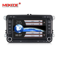 MEKEDE 2DIN Original car UI car dvd player for Volkswagen polo golf passat tiguan skoda yeti superb rapid for skoda gps navi