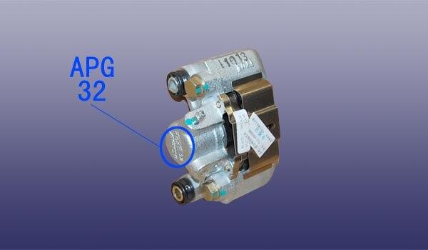 1 pièces D'étrier De Frein Arrière avec plaquettes de frein Chinois CHERY TIGGO 3 Auto voiture moteur partie T11-3502060