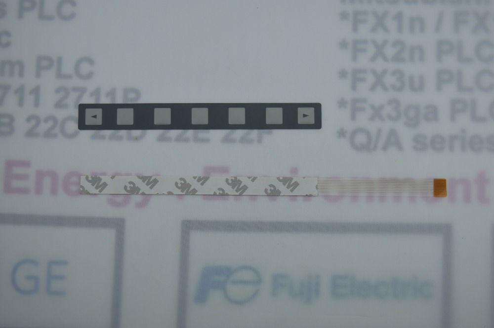 cable MEMBRANE KEYPAD 7 KEY for industry use 1PC A98L-0001-0252