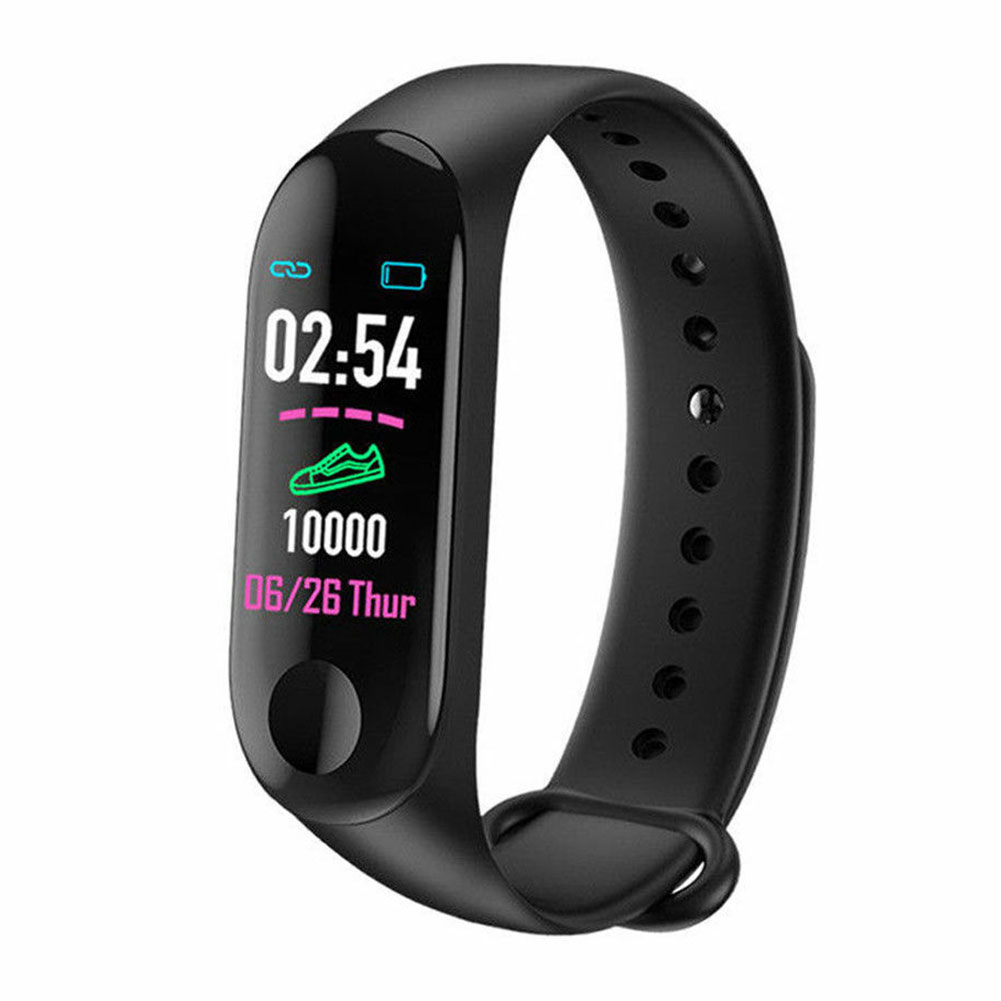 Bracelet Heart Rate Monitor Fitness Tracker Blood Pressure Smart Wristband IPS Screen Sports Health Multifunctional Step Counter